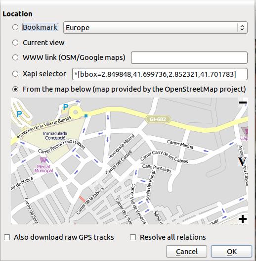 Editing OSM: Merkaator | Castells