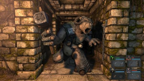 Legend of Grimrock Ogre