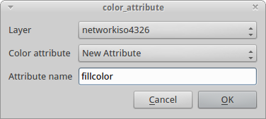 Qgis – Color to layer attribute | Castells