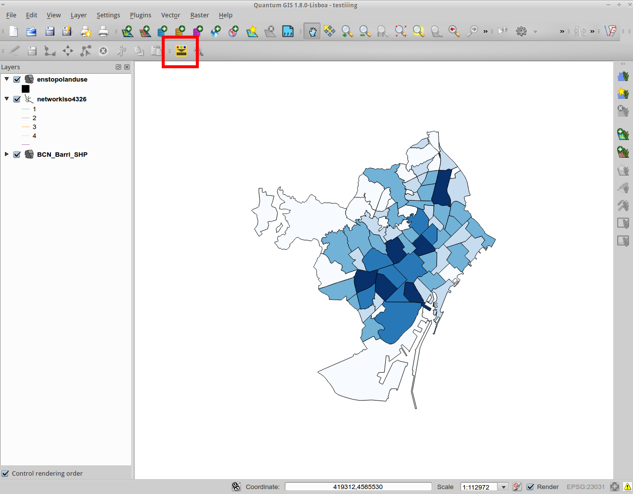 Qgis – Color to layer attribute   Castells
