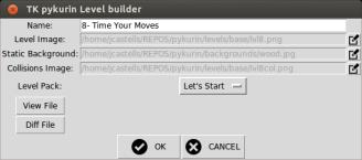 Modifying level properties