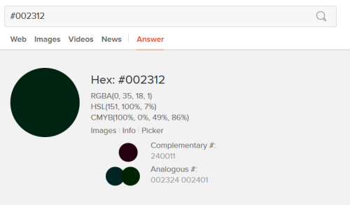 DuckDuckGo HEX color