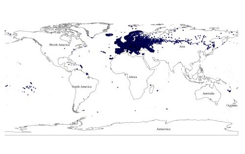 Europe dbpedia results