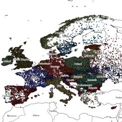 Europe DBpedia 2017