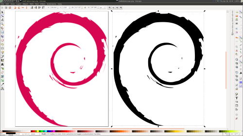 Debian Logo Vectorized