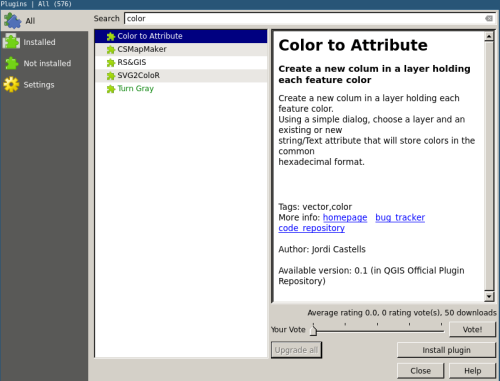 QGIS Color to Layer